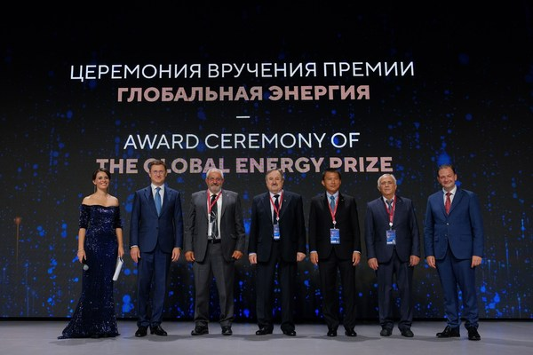 Global Energy Prize holds award ceremony for its laureates from Greece, Italy, Russia and USA