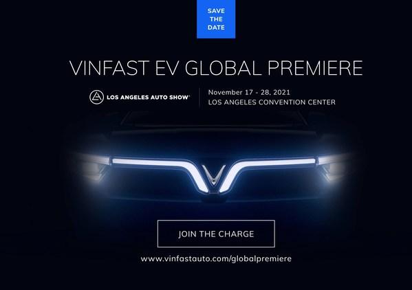 VinFast Mengumumkan Penampilan Global Bagi Kenderaan Elektrik (EV) Baharunya di 2021 Los Angeles Auto Show
