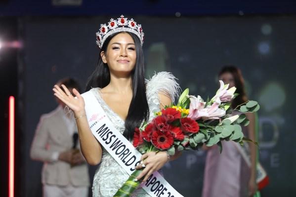 18-year-old Khailing Ho Crowned Miss World Singapore 2021