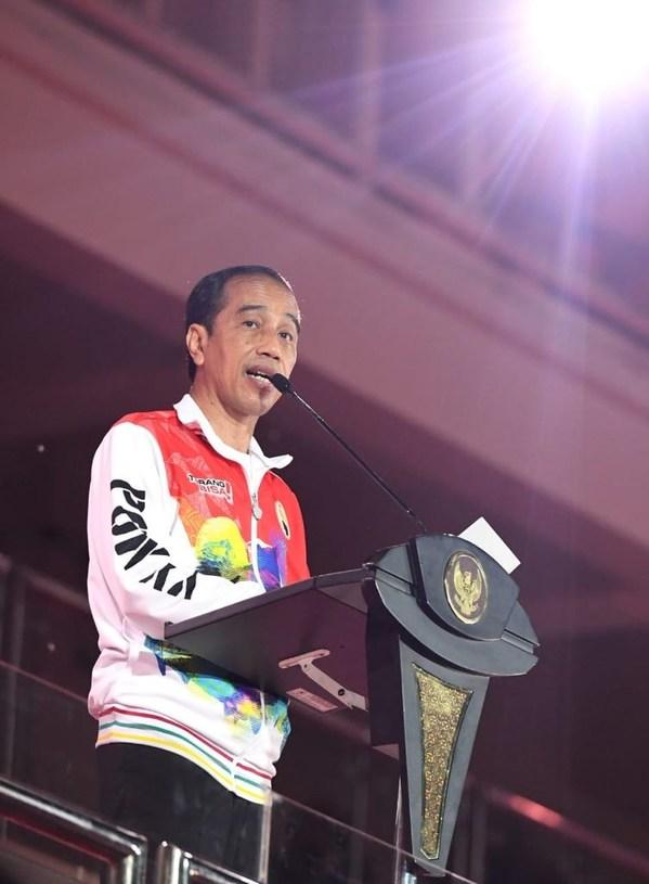 第20回インドネシア国民体育大会が力強く閉幕:政府はパプア州の可能性を称える