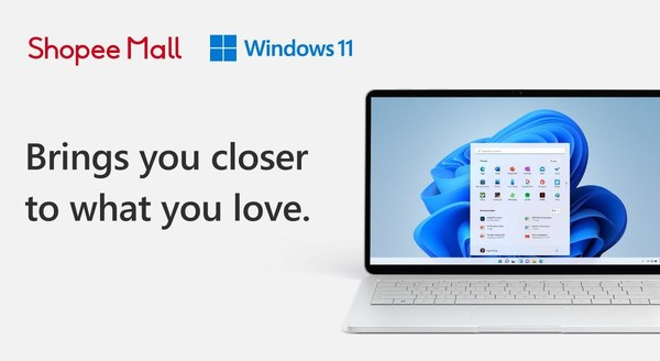Shopee to offer exclusive launch deals on new PCs powered by Microsoft's latest Windows 11