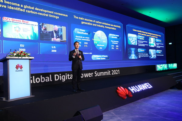 Huawei Digital Power lights up Dubai and calls for collective efforts for low-carbon, smart society