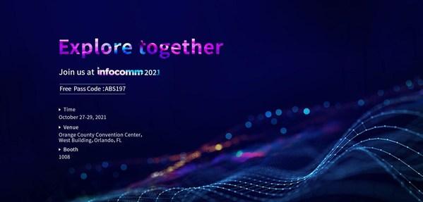 Absen ra mắt các giải pháp màn hình LED mới nhất tại InfoComm 2021