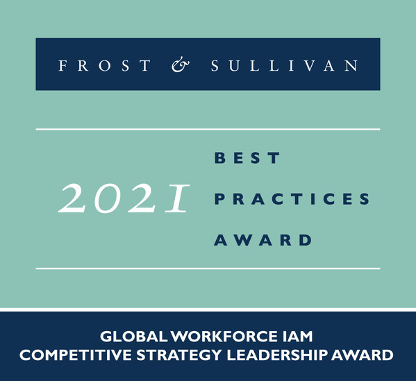 Frost & Sullivan Recognizes Ping Identity with 2021 Competitive Strategy Leadership Award for Excelling in the Workforce IAM Space