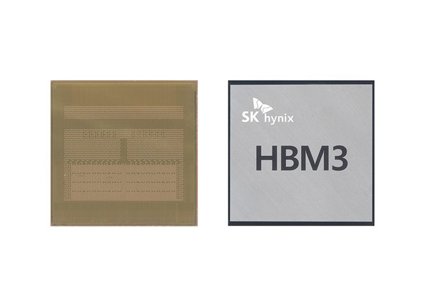SK海力士开发业界第一款HBM3 DRAM