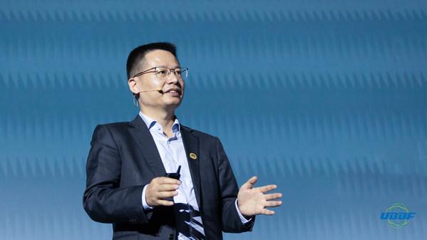 Ông Kevin Hu thuộc Tập đoàn Huawei phát biểu về Mạng đám mây thông minh thúc đẩy tiềm năng phát triển mới