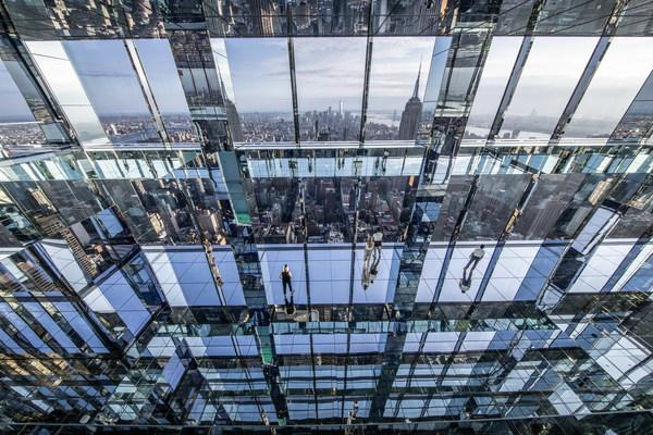 겐조 디지털, 뉴욕 스카이라인을 담은 서밋 원 밴더빌트에서 새롭고 역동적인 몰입형 설치 작품을 선보여