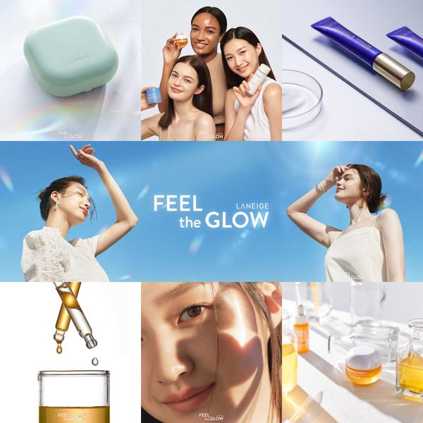 LANEIGE announces its new slogan, 'FEEL the GLOW, LANEIGE'
