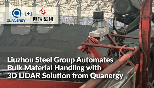 Liuzhou Steel Group Automates Bulk Material Handling with 3D LiDAR Solution from Quanergy