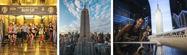 Annual Empire State Building Run-Up Presented by Turkish Airlines Powered by the Challenged Athletes Foundation Returns on Oct. 26