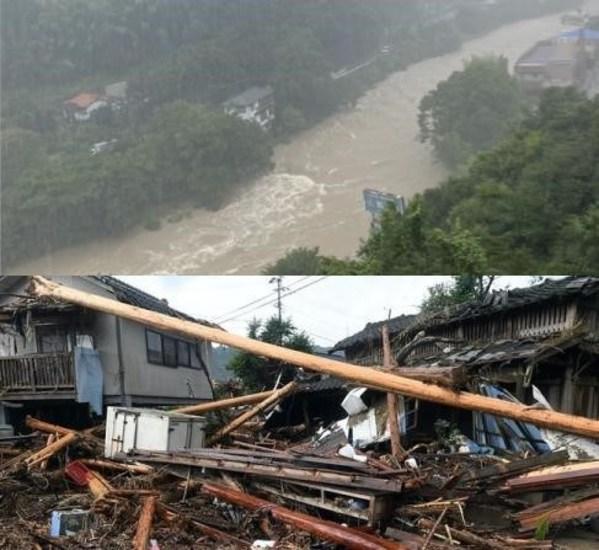 令和3年大雨災害被災地へのライフウェーブの支援