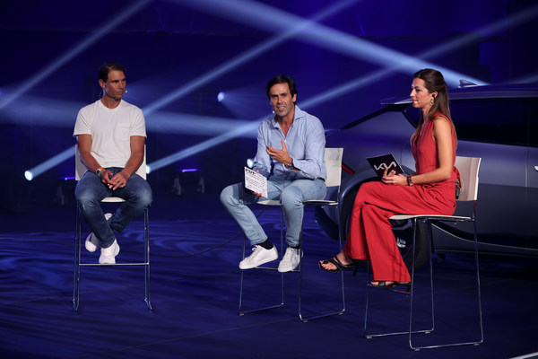 Kia global ambassador Rafael Nadal will increase use of electric vehicles with new EV6 crossover