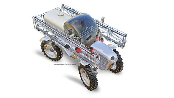 丹佛斯四大先进解决方案助力农机提高智慧,助力农民增效创收