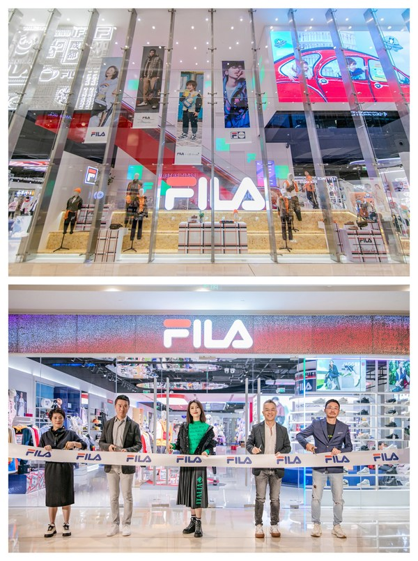 FILA斐乐全球第二家全新概念店入驻成都IFS