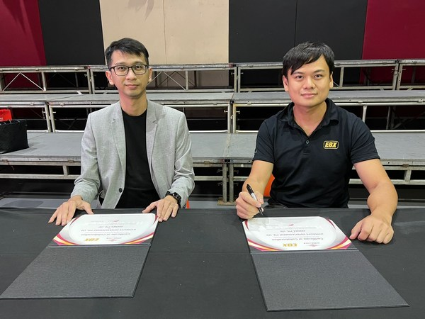 HyperLive and EBX Sign MoU to Promote and Livestream Events in Singapore