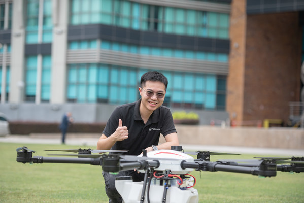 DroneTech Startup Poladrone Raises US$4.29 million in Malaysia's Largest Seed Round