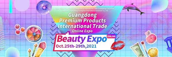 Triển lãm trực tuyến thương mại quốc tế sản phẩm cao cấp Quảng Đông - Beauty Expo đã chính thức khởi động vào ngày 25/10