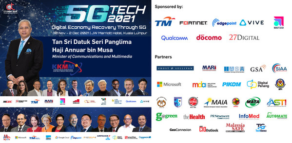 CT Event Asia to host 5G TECH 2021