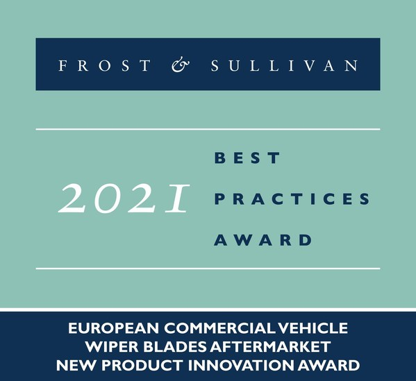 Valeo Applauded by Frost & Sullivan for Being the Only Manufacturer of Wiper Blade Solutions for the Mercedes-Benz Actros MP5 Model