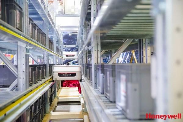 霍尼韦尔新一代多层穿梭车系统亮相亚洲物流展 | 美通社