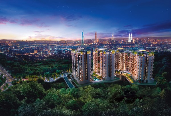 Brezza One Residency is an Architectural Marvel by the Mountains of Ampang