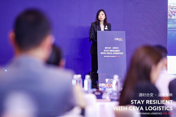 """""""通时合变,运筹未来"""" CEVA Logistics首届客户峰会在上海举办"""
