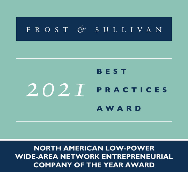 Frost & Sullivan Applauds Everynet for Providing Scalable, Reliable, and Easy to Deploy Connectivity with Its Low-power Wide-area Network (LPWAN) IoT Offerings