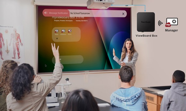 ViewSonic Introduces ViewBoard Box to Transform Classrooms into Immersive Digital Learning Spaces in Seconds