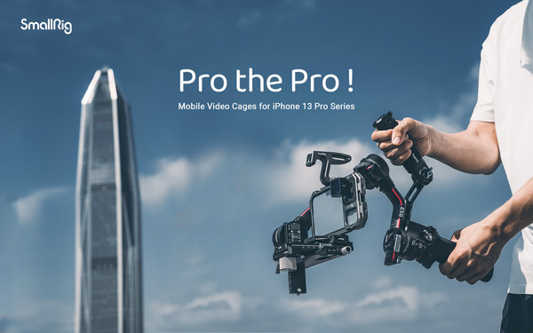 Introducing the SmallRig Mobile Video Cages for the iPhone 13 Pro and iPhone 13 Pro Max, designed to help video content creators get the most out of the iPhone 13 Pro and iPhone 13 Pro Max to create incredible cinematic videos.