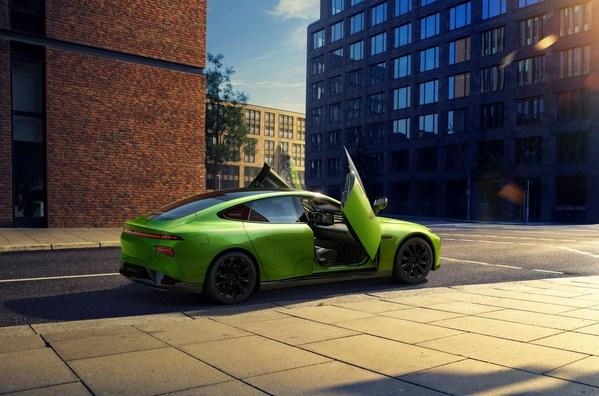 XPENG Flagship P7 Smart Electric Sedan Debuts in Norway